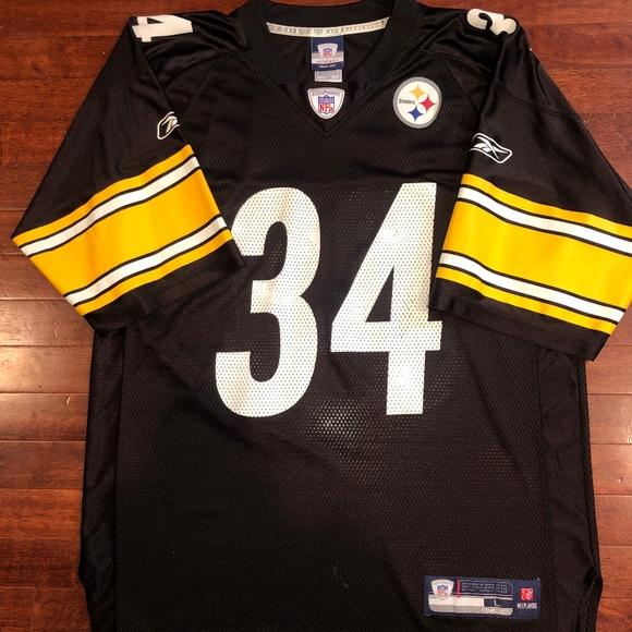 c0f3a114a49 Reebok Shirts | Vintage Steelers Mendenhall Jersey | Poshmark
